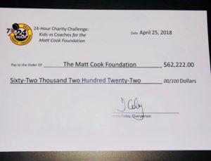 A $62,000 hockey game! | Matt Cook Foundation